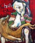 Obras de arte: Europa : España : Madrid : Madrid_ciudad : Amamantando a Chewbacca