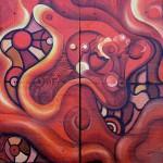 Obras de arte: America : Argentina : San_Luis : Juana_Koslay_-_El_Chorrillo : Gótico