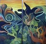 Obras de arte: America : Argentina : San_Luis : Juana_Koslay_-_El_Chorrillo : Tan Natural