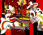 Obras de arte: America : Argentina : San_Luis : Juana_Koslay_-_El_Chorrillo : Mano a Mano