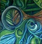 Obras de arte: America : Argentina : San_Luis : Juana_Koslay_-_El_Chorrillo : Abstracto Vegetal