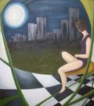 Obras de arte: America : Argentina : Buenos_Aires : Ciudad_de_Buenos_Aires : A traves de la ventana