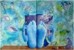 Obras de arte: America : México : Chihuahua : juarez : Fantasmas (Díptico)