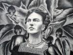 Obras de arte: America : México : Queretaro_de_Arteaga : Centro-Queretaro : Frida y los Monos