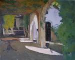 Obras de arte: Europa : Espa�a : Catalunya_Barcelona : Barcelona : Casona (porches)