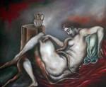 Obras de arte: Europa : Portugal : Viseu : Viseu_cidade : A grande masturbadora