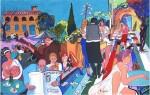 Obras de arte: Europa : España : Islas_Baleares : sineu : En la ciudad soñada