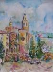 Obras de arte: Europa : España : Andalucía_Málaga : Torre_del_Mar : Monasterio de Sant Cugat del Valles. Barcelona.