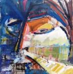 Obras de arte: America : Argentina : Cordoba : Cordoba_ciudad : ojos que miran pasiaje