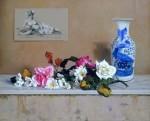 Obras de arte: Europa : España : Andalucía_Málaga : Málaga_ciudad : Rosas y Margaritas