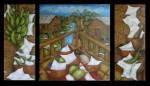 Obras de arte: America : México : Mexico_Distrito-Federal : Coyoacan : TRIPTICO PUERTORRIQUEÑO ¨NOSTALGIAS¨