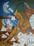 Obras de arte: America : México : Mexico_Distrito-Federal : Coyoacan : HOJARASCA