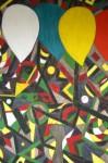 Obras de arte: Europa : España : Galicia_Lugo : Villalba : EL VENDEDOR DE GLOBOS EN LAS FIESTAS DE MI PUEBLO