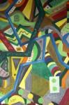 Obras de arte: Europa : España : Galicia_Lugo : Villalba : PAISAJE CON TUNEL