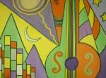 Obras de arte: Europa : España : Galicia_Lugo : Villalba : MONTAÑAS DE MÚSICA PARA REGALAR