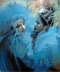 Obras de arte: America : Argentina : Buenos_Aires : Ciudad_de_Buenos_Aires : Carnaval Azulado