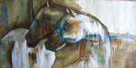 Obras de arte: America : Chile : Region_Metropolitana-Santiago : Las_Condes : pareja caballos ( estudio 2)