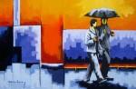 Obras de arte: America : Colombia : Antioquia : Medellin : DE PASEO CON LA MADRE