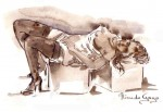 Obras de arte: Europa : España : Islas_Baleares : sineu : desnudo a 3