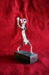 Obras de arte: Europa : España : Andalucía_Sevilla : Lora_del_Rio : Hombre en danza (homenaje a África)