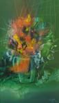 Obras de arte: America : Argentina : Buenos_Aires : Lanus_Este : Espiritu Germinal II