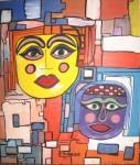 Obras de arte: America : Uruguay : Montevideo : Montevideo_ciudad : dos y mas colores