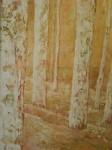 Obras de arte: Europa : España : Murcia : molina : troncos blancos