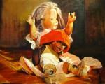 Obras de arte: America : Argentina : Buenos_Aires : Ciudad_de_Buenos_Aires : Amigos de la Infancia