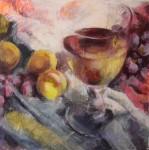 Obras de arte: Europa : España : Canarias_Santa_Cruz_de_Tenerife : Santa_Cruz_Tenerife : Vino y Fruta 1