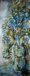Obras de arte: Europa : España : Catalunya_Tarragona : Banyeres_Penedes : Margaritas en azul