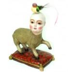 Obras de arte: Europa : España : Andalucía_Sevilla : Sevilla-ciudad : niño oveja con pajaro