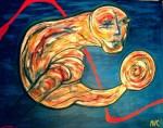 Obras de arte: Europa : España : Catalunya_Barcelona : Barcelona_ciudad : Estar en movimiento