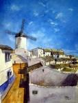 Obras de arte: Europa : España : Castilla_la_Mancha_Ciudad_Real : Ciudad_Real : Albaicín de día