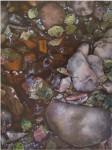 Obras de arte: Europa : España : Catalunya_Barcelona : Mataró : Piedras de rio