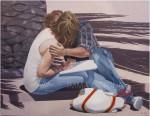 Obras de arte: Europa : España : Catalunya_Barcelona : Mataró : fes-me un peto