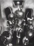 Obras de arte: America : México : Jalisco : Guadalajara : Cuatro Gatos