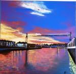 Obras de arte: Europa : España : Euskadi_Bizkaia : barakaldo : Puente colgante de Portugalete