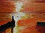 Obras de arte: Europa : España : Andalucía_Cádiz : Algeciras : Amanecer