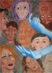 Obras de arte: America : México : Chihuahua : juarez : Amigos y enemigos imaginarios