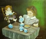 Obras de arte: America : Argentina : Buenos_Aires : Ciudad_de_Buenos_Aires : Jugando a las muñecas