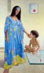 Obras de arte: America : Colombia : Santander_colombia : Bucaramanga : Retratos M y C