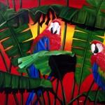 Obras de arte: America : Argentina : Cordoba : Cordoba_ciudad : Parrots