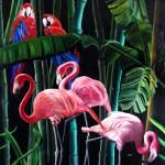 Obras de arte: America : Argentina : Cordoba : Cordoba_ciudad : Selv & Flamencos