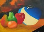 Obras de arte: America : Colombia : Distrito_Capital_de-Bogota : Bogota_ciudad : BODEGON MANDARINA