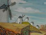 Obras de arte: Europa : España : Andalucía_Cádiz : Algeciras : Vista Manchega