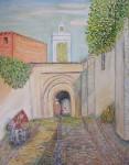 Obras de arte: Europa : España : Andalucía_Cádiz : Algeciras : Vista Marruecos