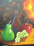 Obras de arte: America : Colombia : Distrito_Capital_de-Bogota : Bogota_ciudad : BODEGON UVITA