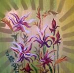 Obras de arte: Europa : España : Catalunya_Barcelona : BCN : flor apasionada-1