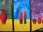 Obras de arte: America : Colombia : Distrito_Capital_de-Bogota : Bogota_ciudad : BODEGON ABSTRACTO