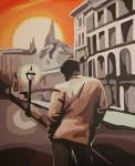 Obras de arte: Europa : Espa�a : Madrid : Pozuelo : Un dia mas